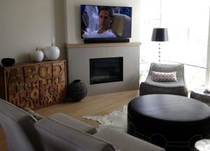 Living Room - TV & sound bar