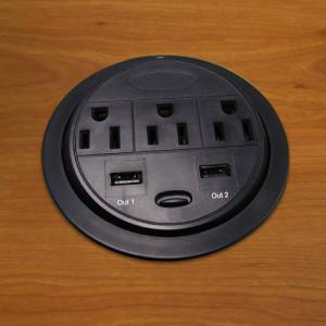 Desk power & Ethernet