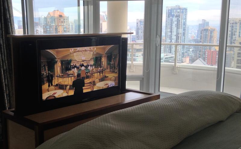 Master Bedroom TV Lift