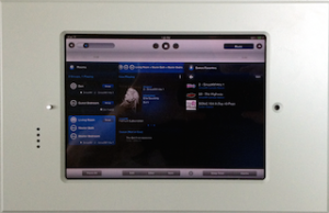 Connected Home Technology In-Wall iPad