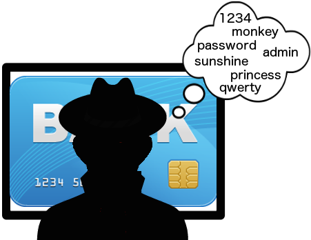 Hackers can crack passwords