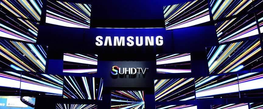 CES 2015 Samsung UHDTV