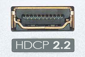 HDMI with HDCP 2.2