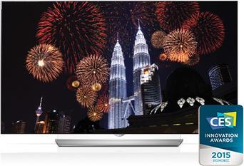 LG OLED UHDTV CES2015