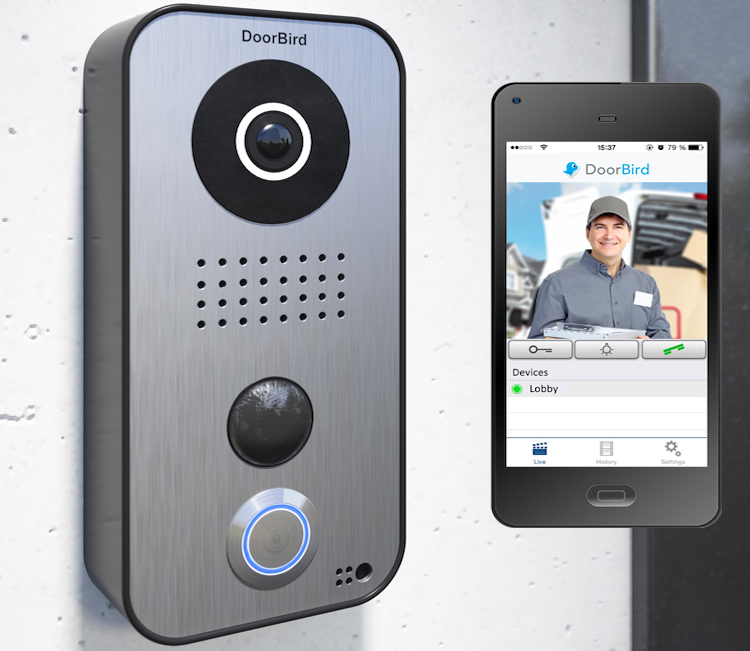 smart doorbell with smart phone app
